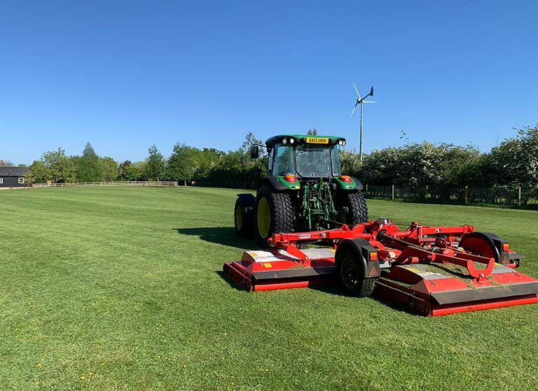 Grounds Maintenance Symbool